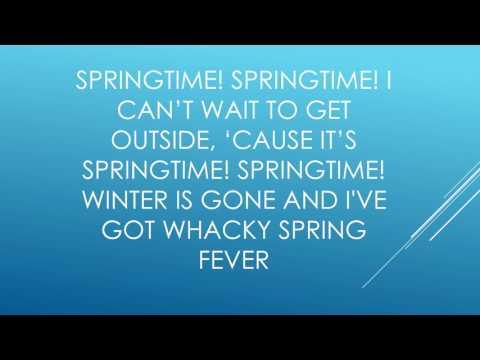 Whacky Spring fever