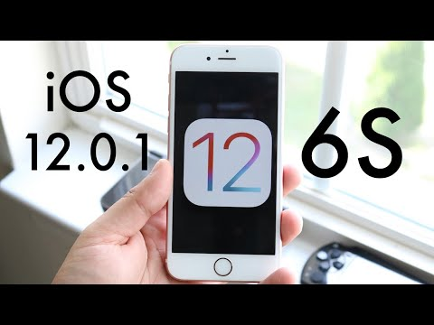 iOS 12.0.1 OFFICIAL On iPHONE 6S! (Should You Update?) (Review)