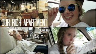 Furniture Shopping 4 Our Apartment // Feat. Erin