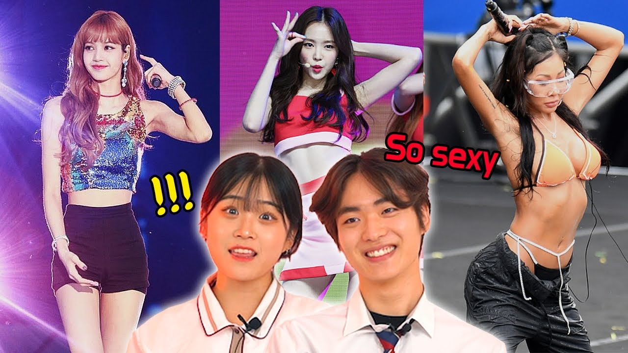 Korean Teens React to K-POP Female Idols With Hottest Body🔥