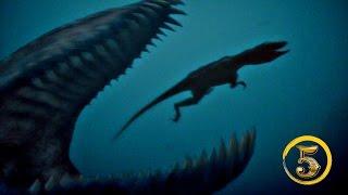 Złota Piątka: Prehistoryczne olbrzymy morskie