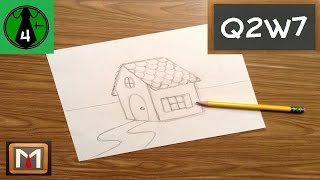 Drawing and Designing a Gingerbread House