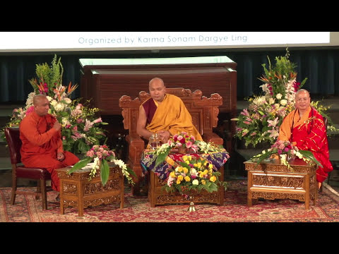Transforming Disturbing Emotions: Dialogue of the Three Major Traditions of Buddhism