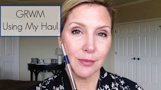 GRWM Using My Haul Sephora Haul and  Friday Haul