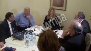 Συνάντηση Φ. Γεννηματά  με τα Προεδρεία ΕΣΕΕ και ΓΣΕΒΕΕ