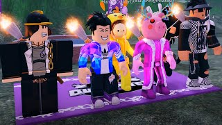 METAVERSE! Event in Outlaster - Pro vs Noob Team Roblox