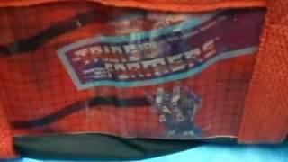 Transformers 1984 Hasbro Bradley Vintage Old School Bag Video
