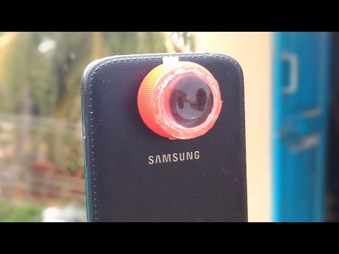How to Make a Macro Lens for Your Smartphone's Camera - DIY