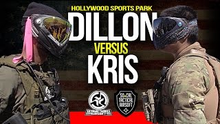 Dillon Vs. Kris - Extreme Tronics Private Game - Hollywood Sports
