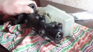 Ремонт ГТЦ (главного тормозного цилиндра) ВАЗ 2108-2115