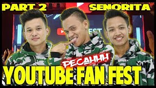 YOUTUBE FAN FEST SURABAYA PART 2 - SENORITA DANCE - SERASA KONSER