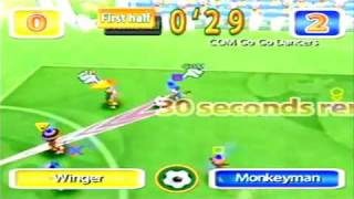 Ape Escape 2 - Minigames: Monkey Soccer