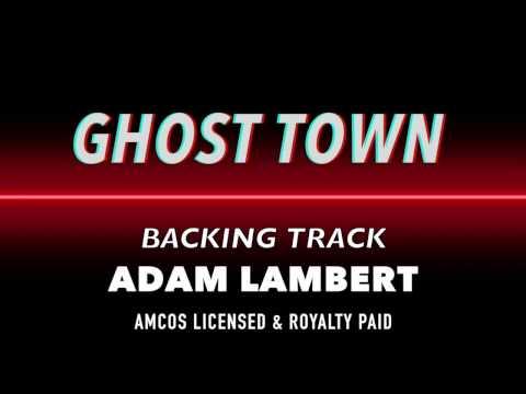 Ghost Town Backing Track MIDI Instrumental Karaoke