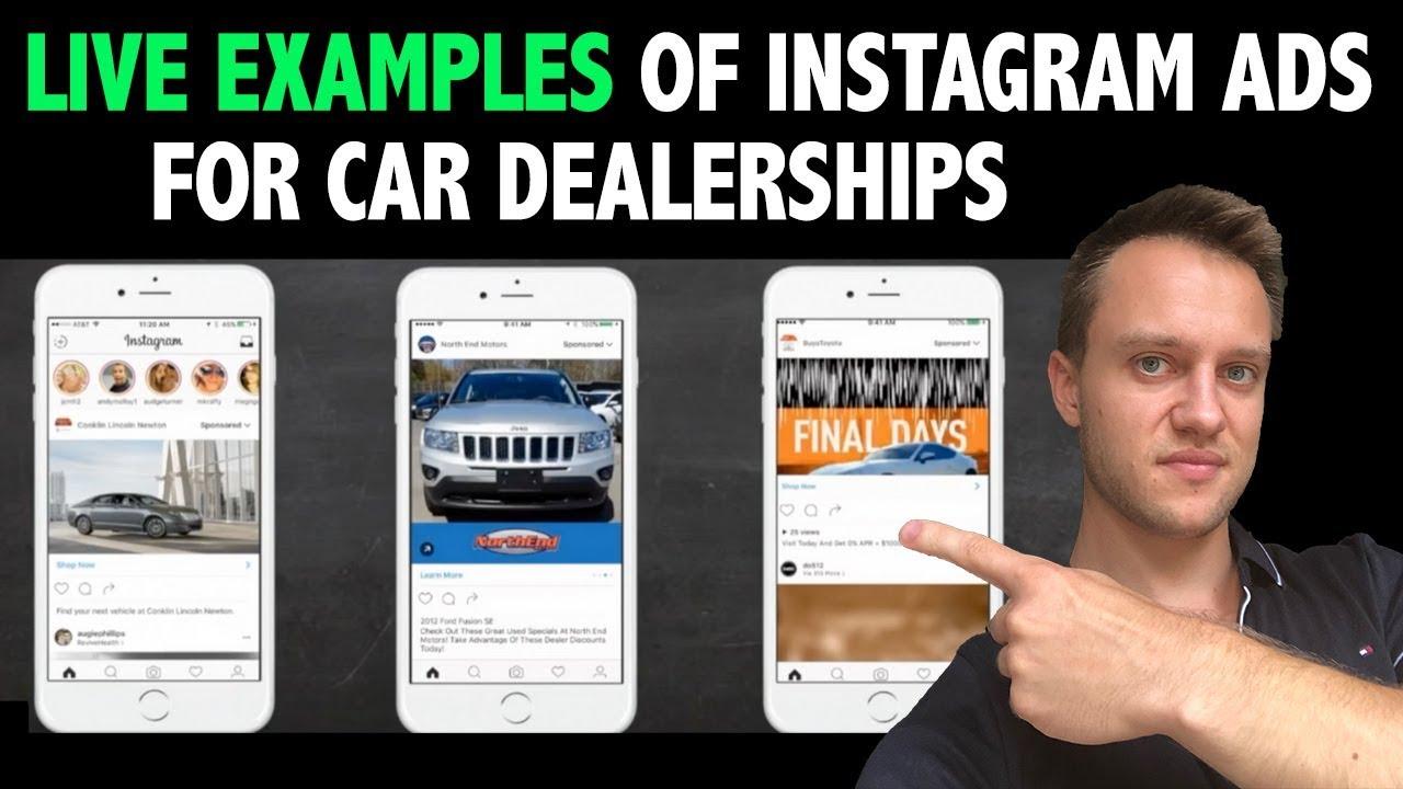 Top 3 Most Converting Instagram Ads For Car Dealerships Live