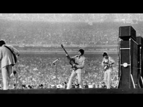 Beatles Fans Outside Shea Stadium 8/23/1966