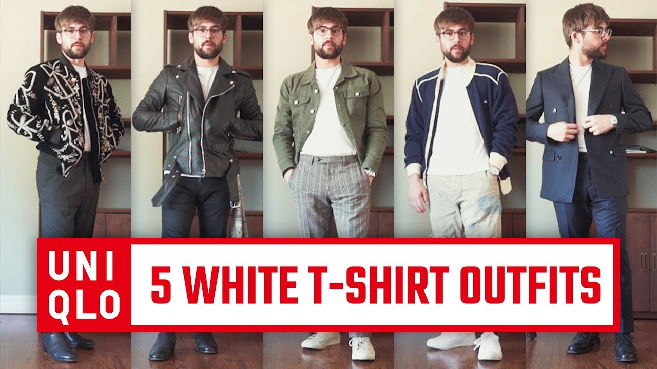 ef94bdd8f1b5 How to Style  A White T-Shirt 5 Ways