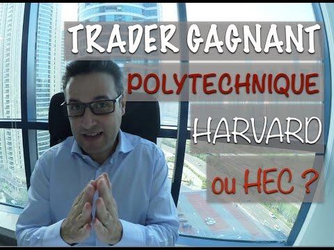 Faut-il faire HEC ou Harvard pour devenir un Trader gagnant ?