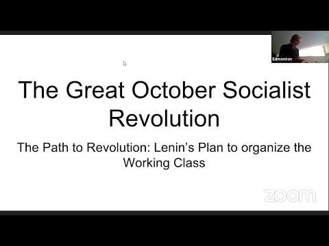 Great October Socialist Revolution Conference - Day 1