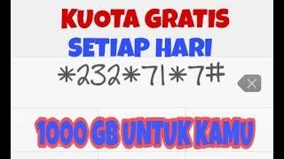 Trik Kuota Gratis ALL OPERATOR SELURUH INDONESIA, Internet Gratis