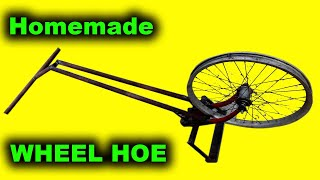 How to make a wheel hoe
