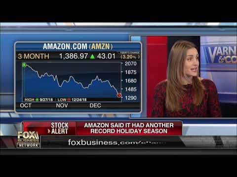 Amazon reporting record holiday season sales