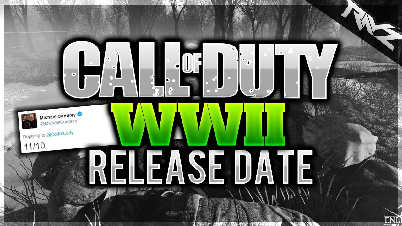 Call of duty online release date in Australia