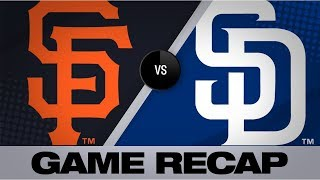 Tatis homers in Padres' 5-1 win vs. Giants | Giants-Padres