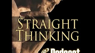 Intellectual Influences  on My Life || Straight Thinking