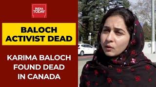 Baloch Activist Karima Baloch Found Dead In Canada