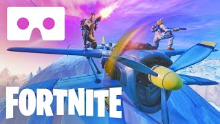 Best 360 Fortnite VR video Google Cardboard Plane 360° Virtual Reality