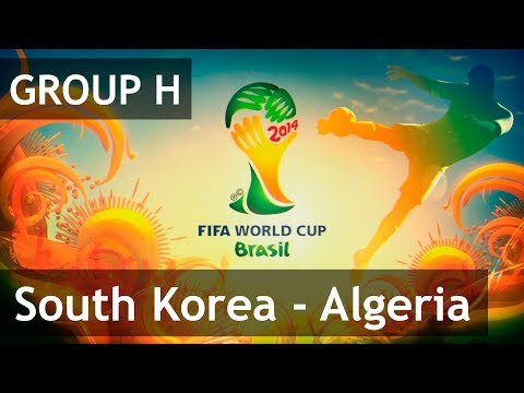 #32 South Korea - Algeria (Group H) 2014 FIFA World Cup