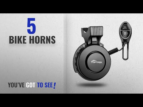Wallfire Bike Horn Ultra Loud 5 Modes Cycling Horns Bike Bicycle Handlebar Ri...