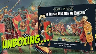 The Roman Invasion of Britain | Warlord Games Hail Caesar starter set | Unboxing