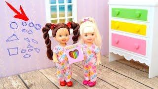 ОДНИ ДОМА или Безответственная Сестра Мультик Куклы #Барби Игрушки Для девочек IkuklaTV
