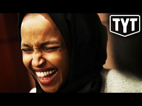Ilhan Omar SCHOOLS Trump