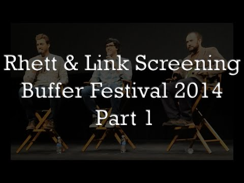 Rhett & Link Screening at Buffer Festival 2014