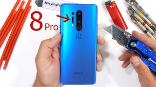 OnePlus 8 Pro Durability Test - a 'bit' more than you might think...