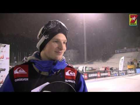 Lumilautailija Janne Korpi hurmasi Seiskan Bilekissat @ Stars of the Stadium