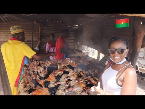 Street Food In Burkina Faso - Rural Life And Living in West Africa, Burkina Faso