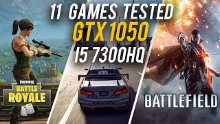 GTX 1050 laptop performance 2018 | 11 Games tested on GTX 1050 HP Omen (i5 7300HQ)