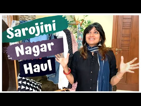 Sarojini Nagar Market Shopping Haul (2019)| With Shop Numbers | Delhi Street Shopping | Chillystudio