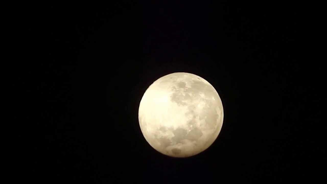 20.8.2013 full moon reflector telescope f 900mm voerde germany