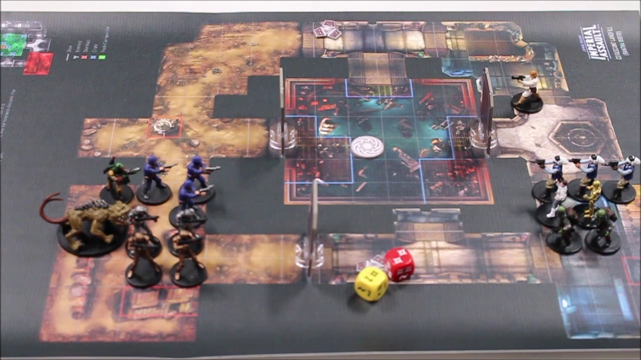 Star Wars Imperial Assault Skirmish Gameplay Overview