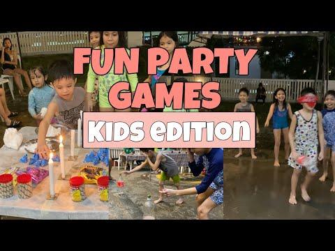 FUN PARTY GAMES IDEAS FOR KIDS | THE BORITOS
