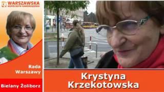 Spot Krystyna Krzekotowska wybory samorzadowe 2010