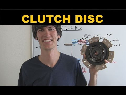 Clutch Disc - Explained