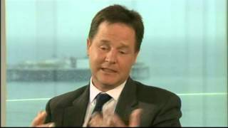 Nick Clegg reaction on - The Apology Song - I