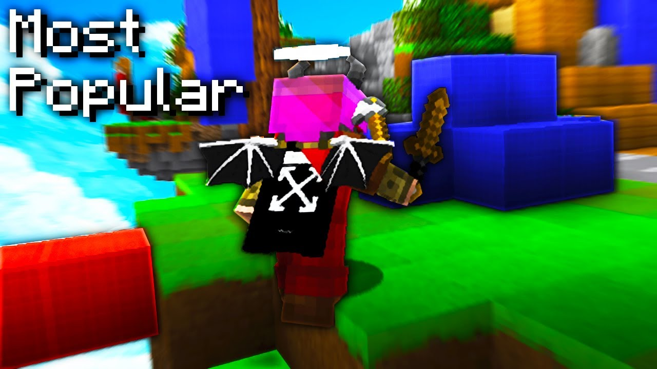 Top 12 MOST POPULAR Minecraft PVP Texture Packs Hypixel Bedwars