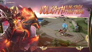 FULL LỒNG TIẾNG | Volkath Xung Thiên Thần Tướng - Garena Liên Quân Mobile