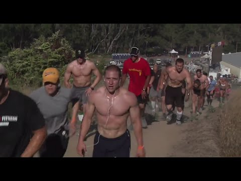 7K Trail Run: Men - 2009 CrossFit Games